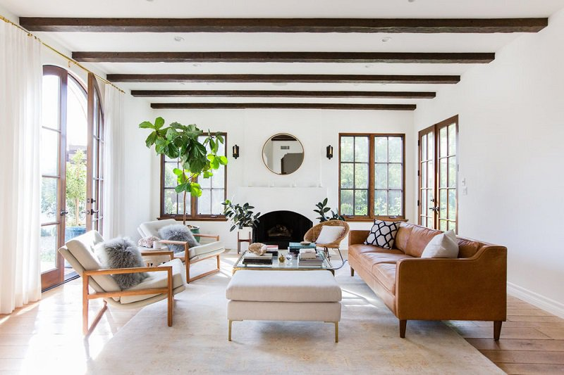 thiết kế không gian nội thất hài hòa với thiên nhiên